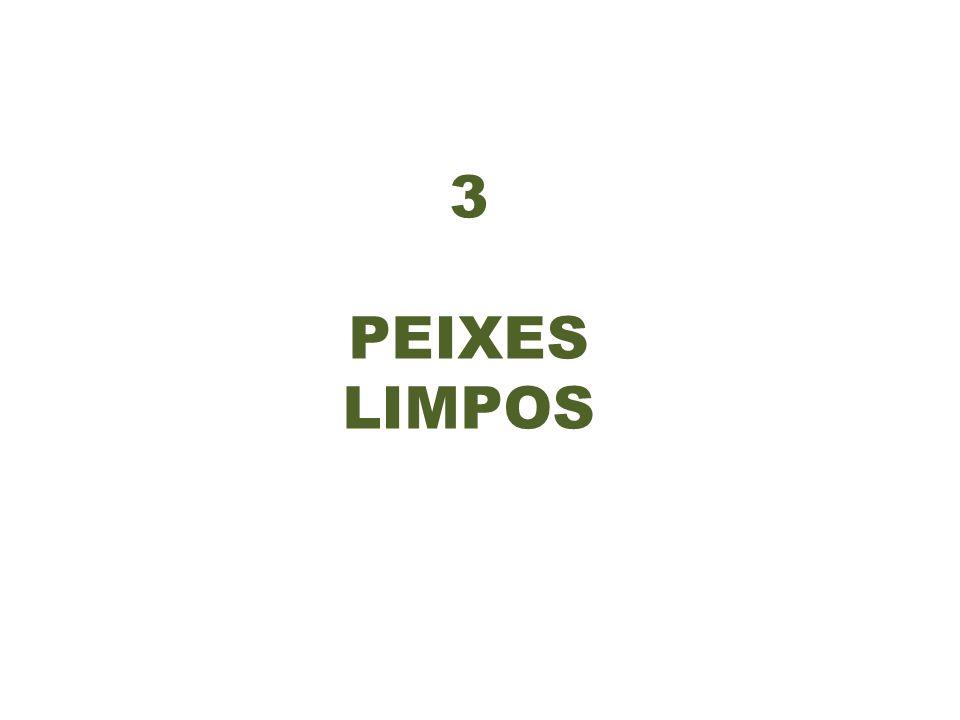 3 PEIXES LIMPOS