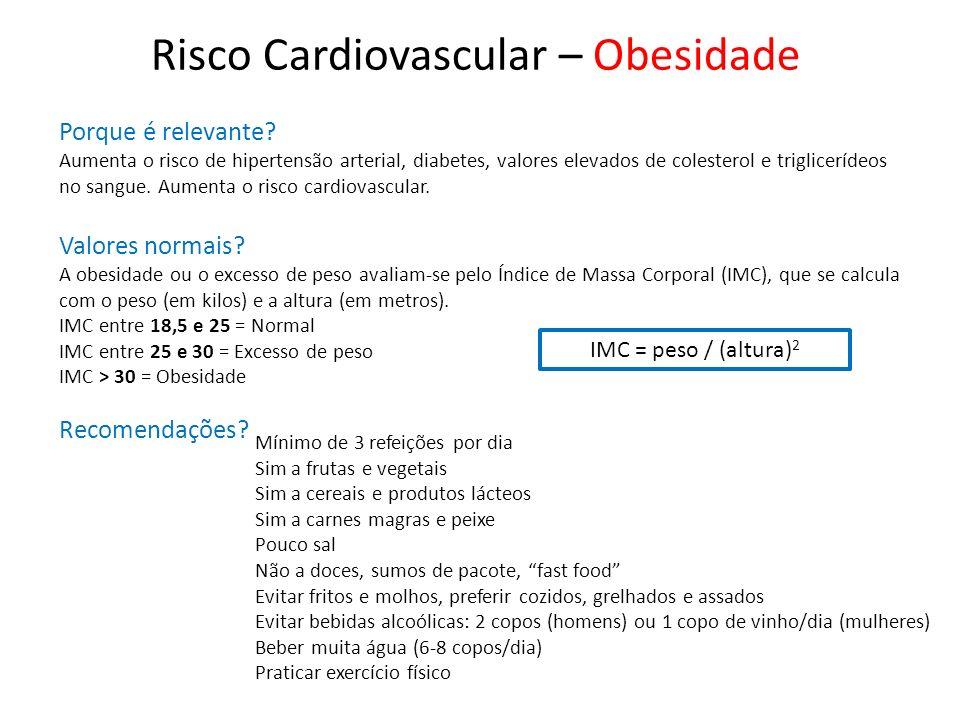 Risco Cardiovascular – Obesidade