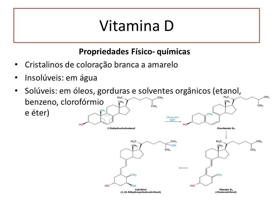 Propriedades Físico- químicas
