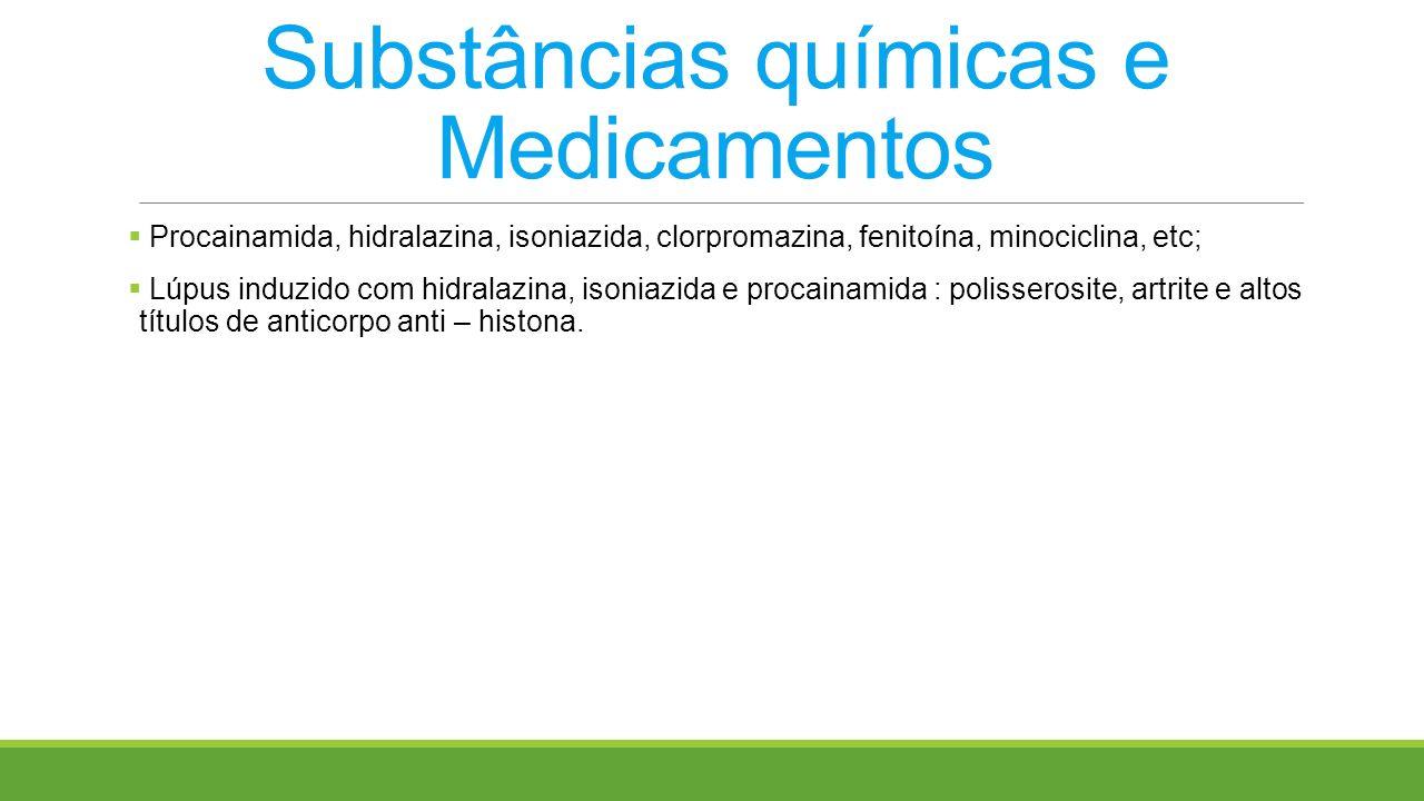 Substâncias químicas e Medicamentos