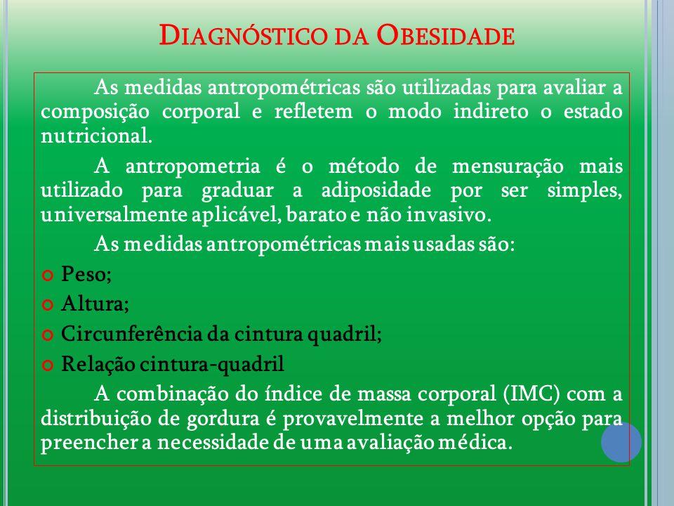 Diagnóstico da Obesidade