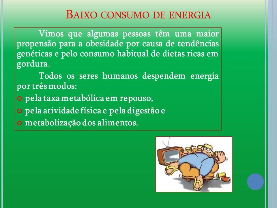 Baixo consumo de energia