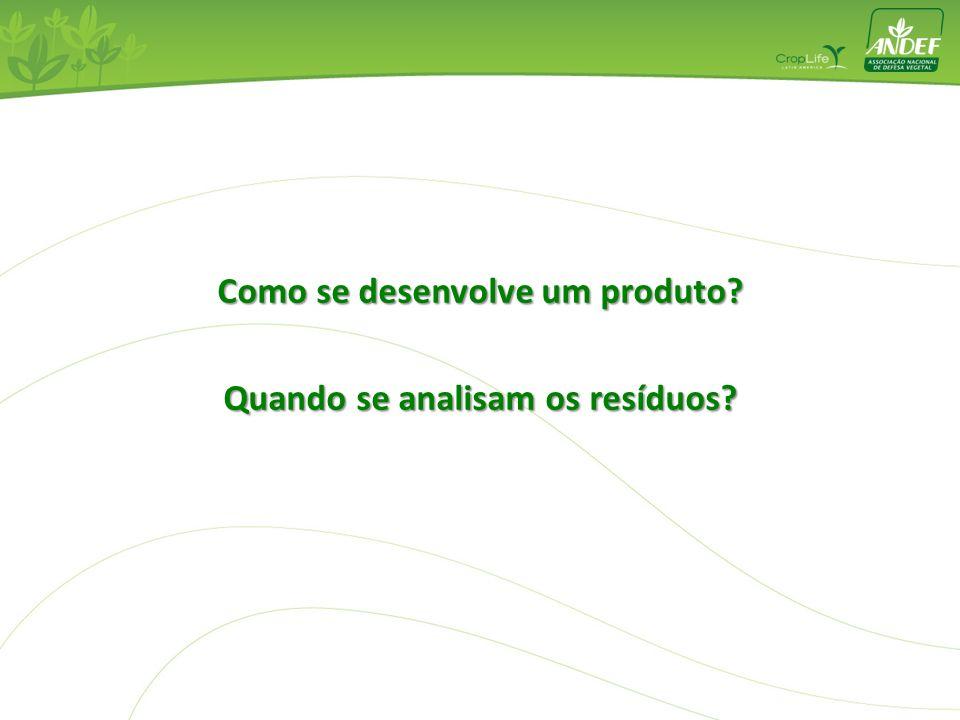 Como se desenvolve um produto Quando se analisam os resíduos