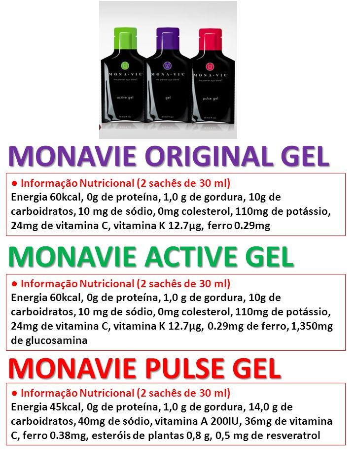 MONAVIE ORIGINAL GEL MONAVIE ACTIVE GEL MONAVIE PULSE GEL