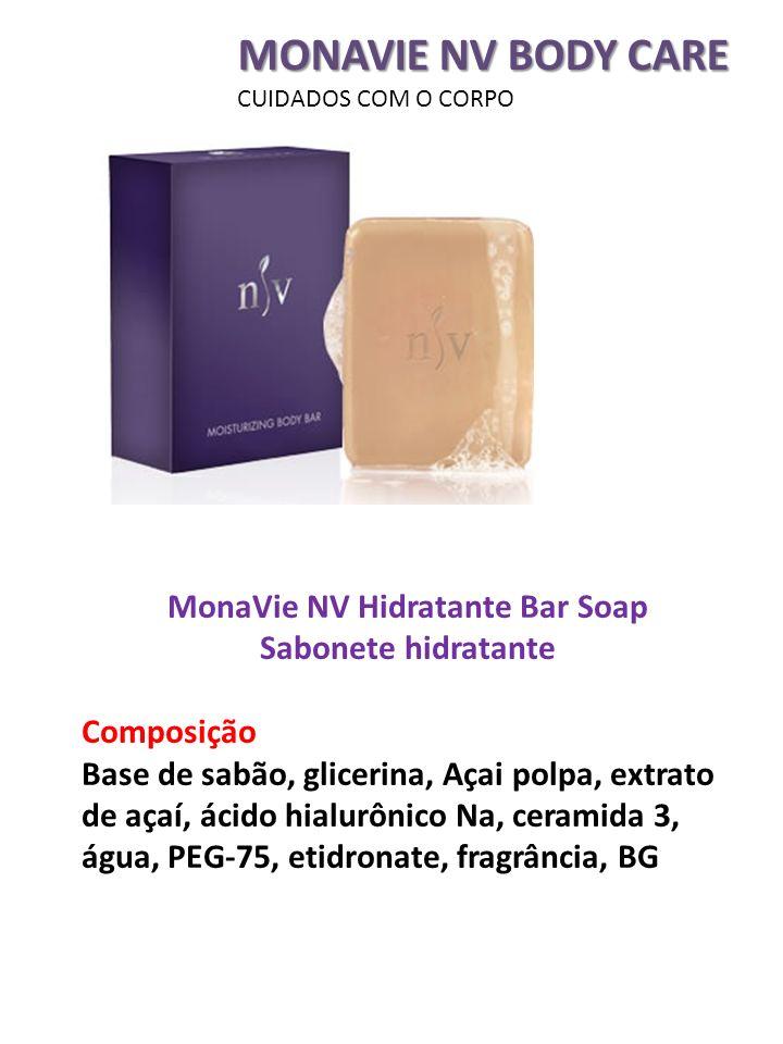 MonaVie NV Hidratante Bar Soap Sabonete hidratante