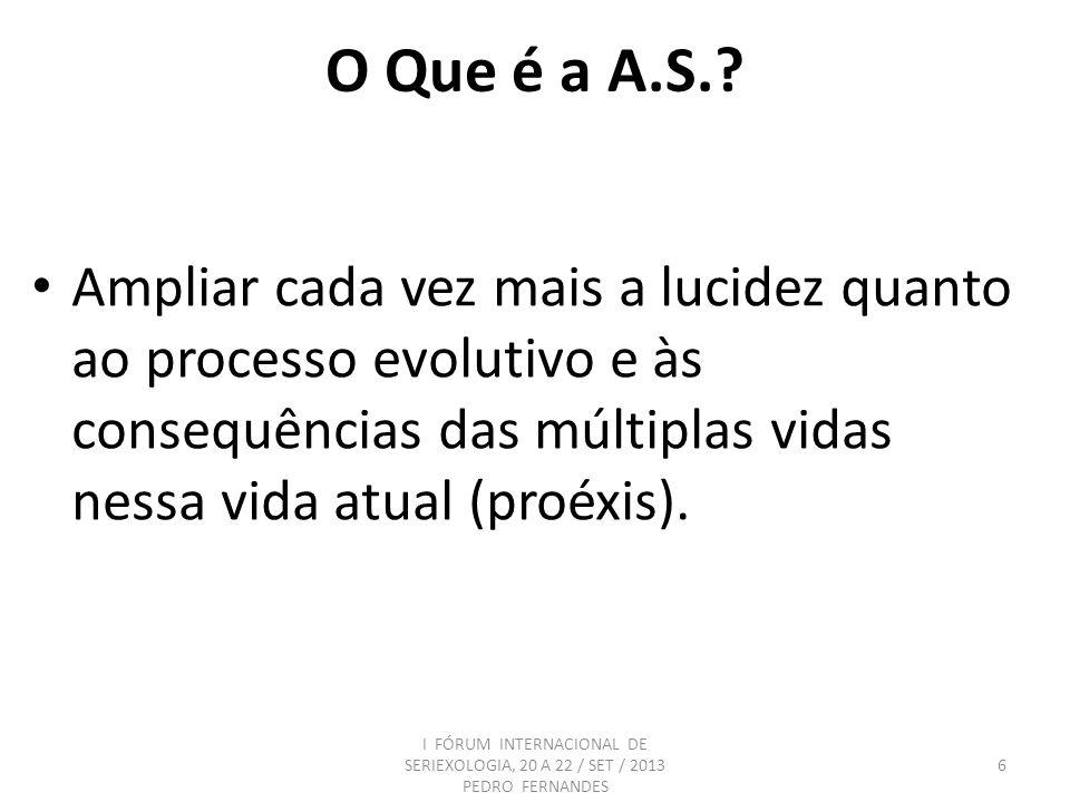 O Que é a A.S.