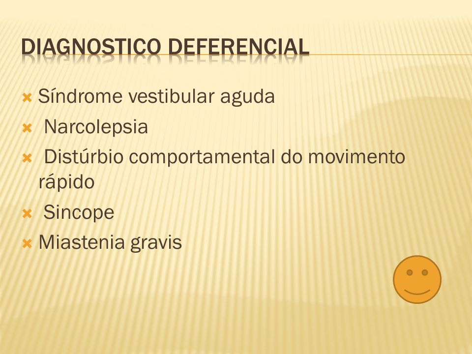 Diagnostico deferencial