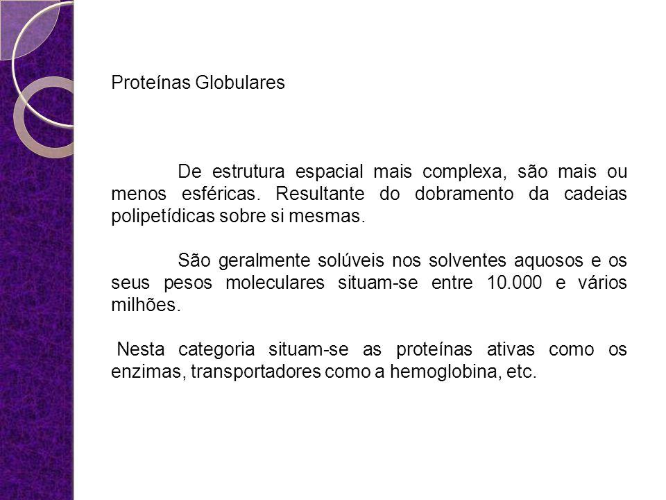 Proteínas Globulares