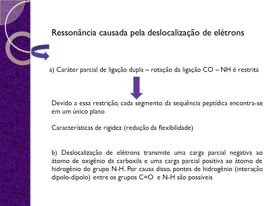 Ressonância causada pela deslocalização de elétrons