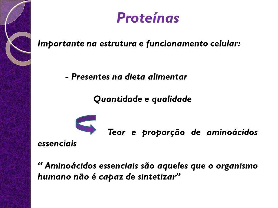 Proteínas Importante na estrutura e funcionamento celular: