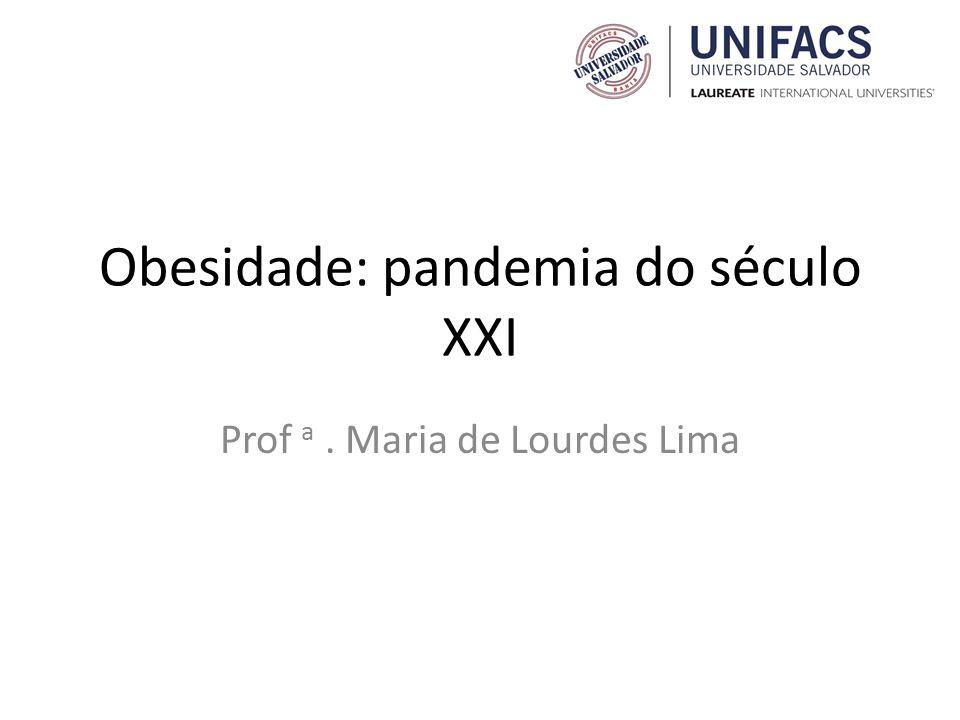 Obesidade: pandemia do século XXI