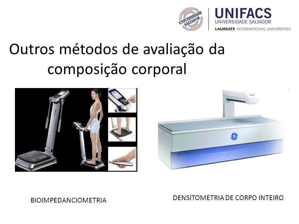Outros métodos de avaliação da composição corporal