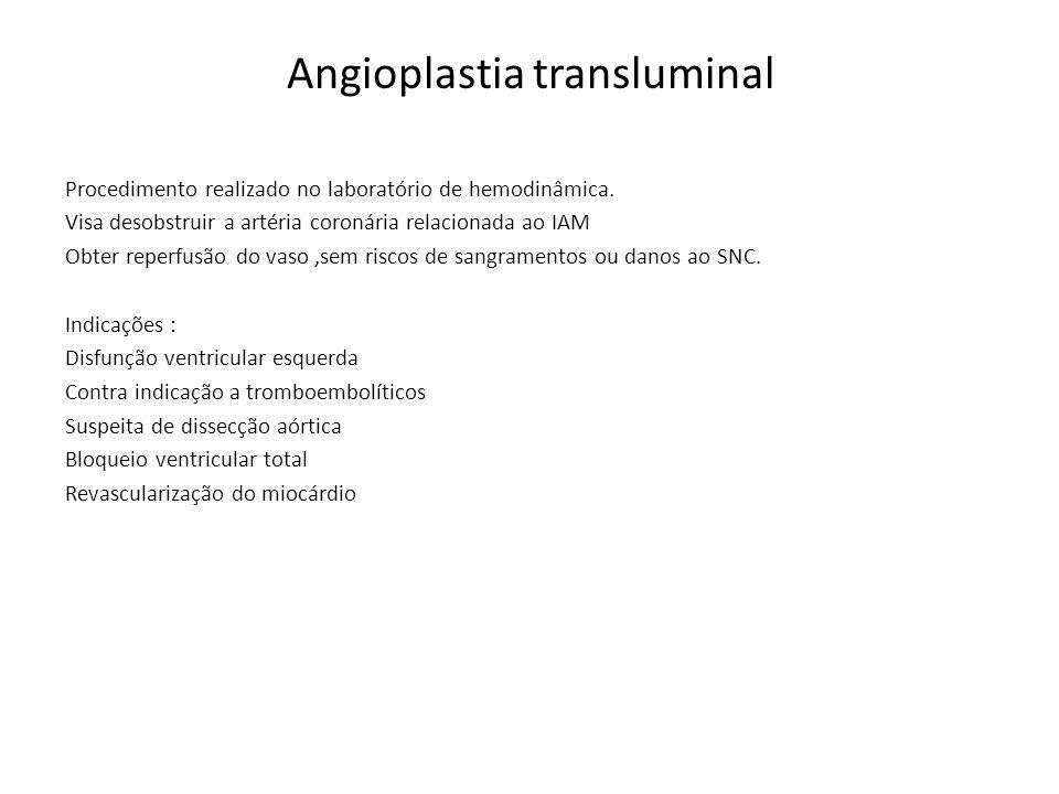 Angioplastia transluminal