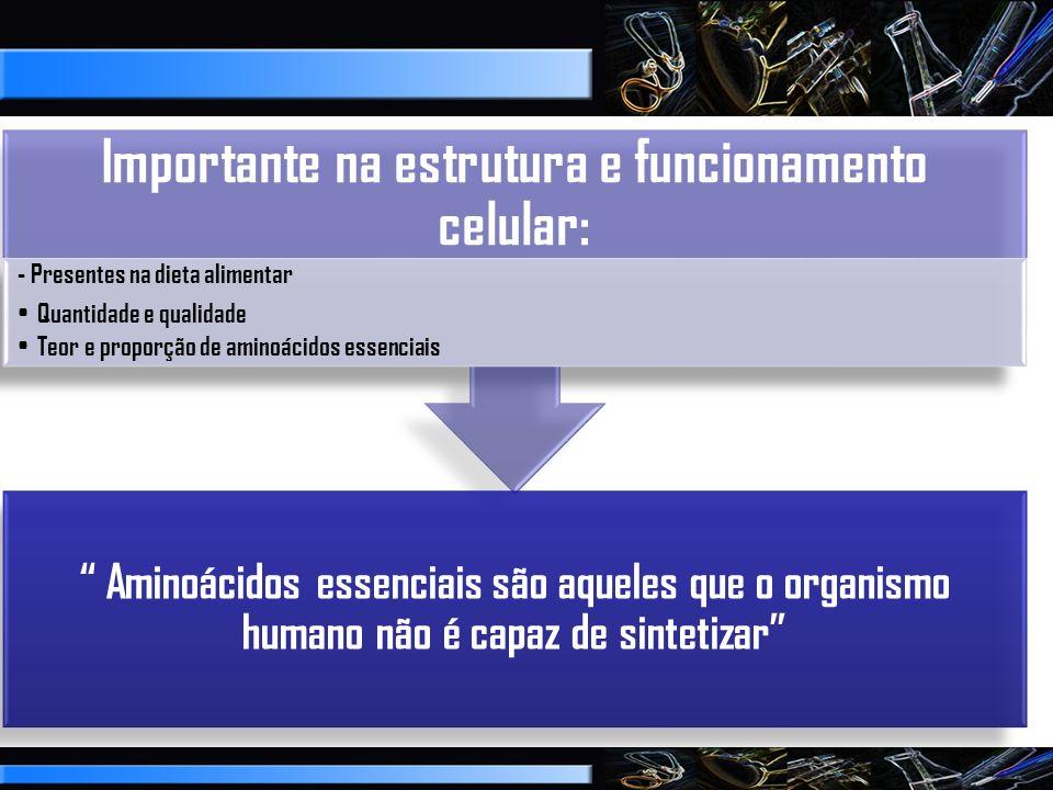 Importante na estrutura e funcionamento celular: