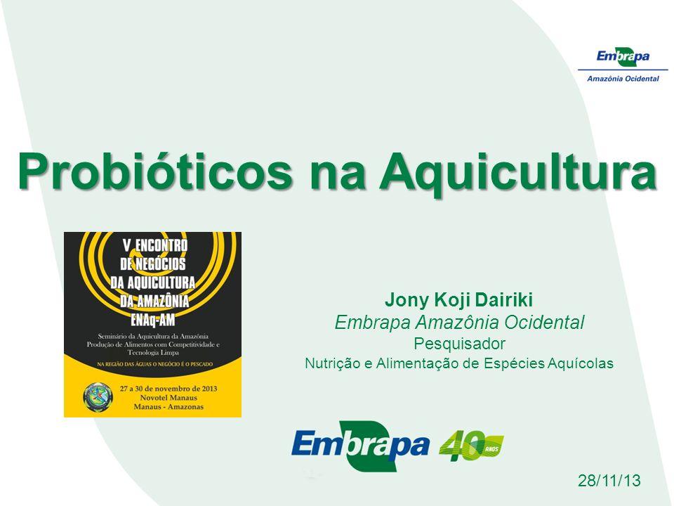 Probióticos na Aquicultura