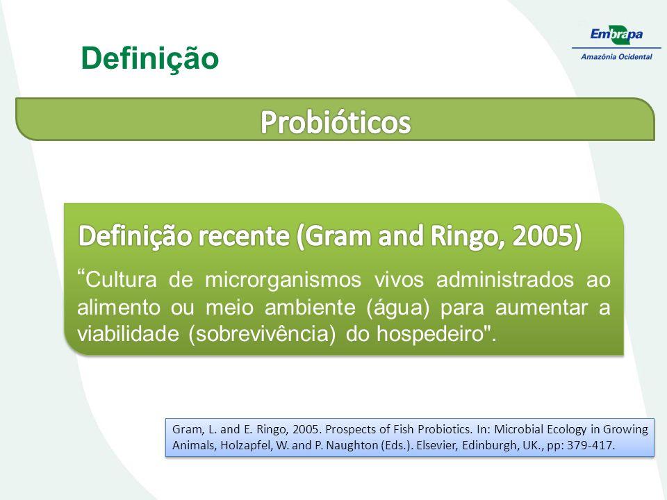 Definição recente (Gram and Ringo, 2005)