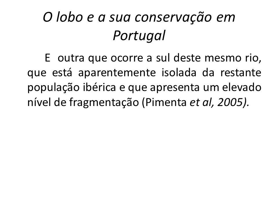 O lobo e a sua conservação em Portugal