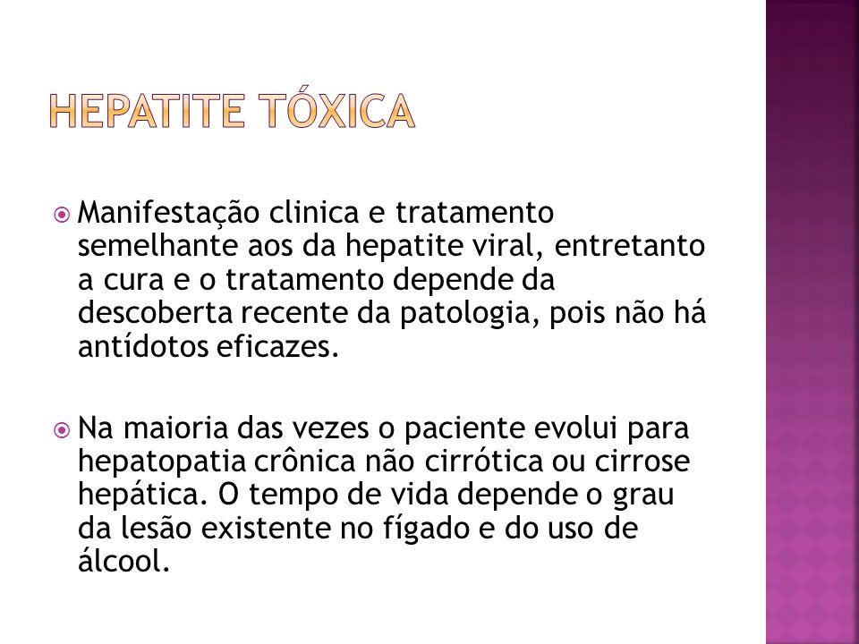 Hepatite tóxica