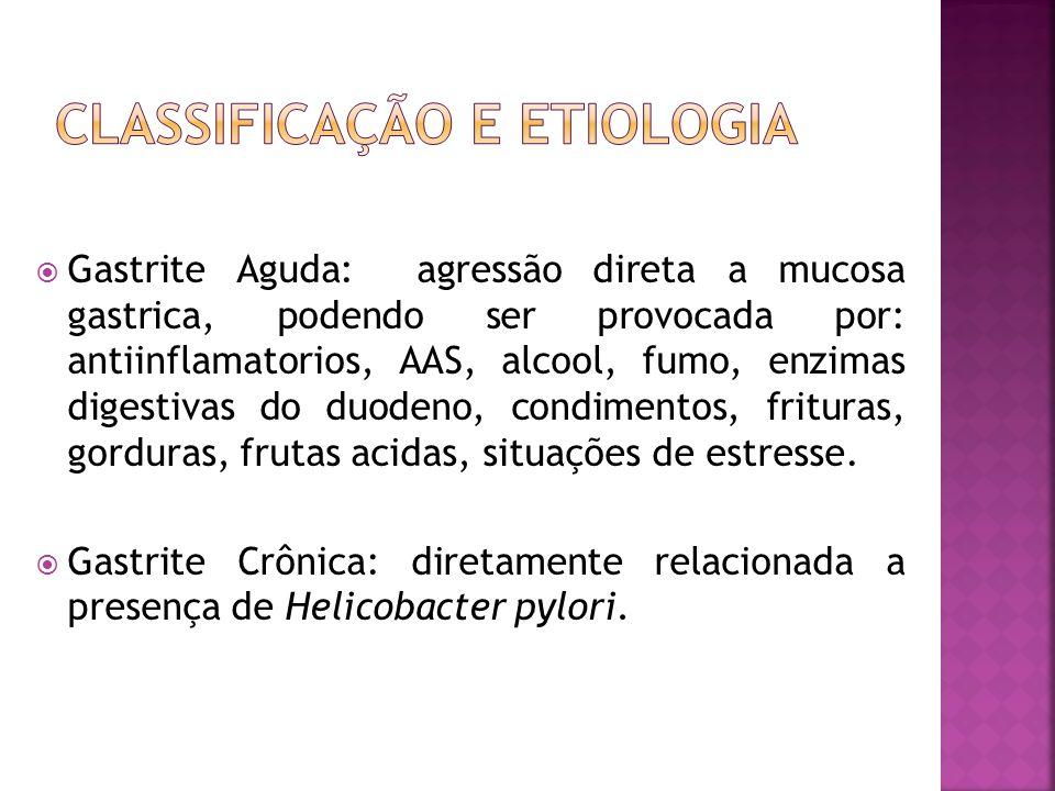 Classificação e Etiologia