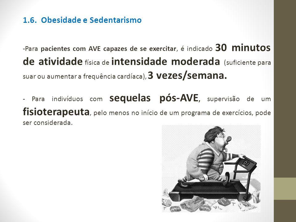 1.6. Obesidade e Sedentarismo