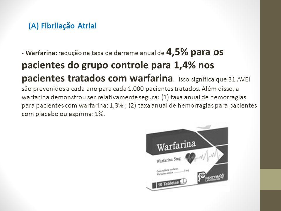 (A) Fibrilação Atrial