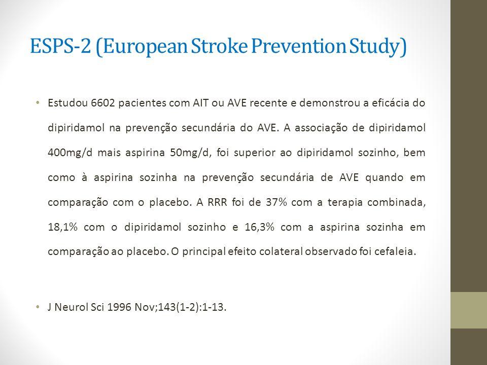 ESPS-2 (European Stroke Prevention Study)