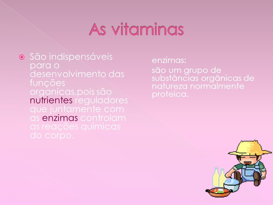 As vitaminas