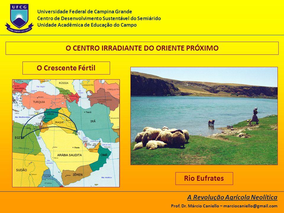 O CENTRO IRRADIANTE DO ORIENTE PRÓXIMO