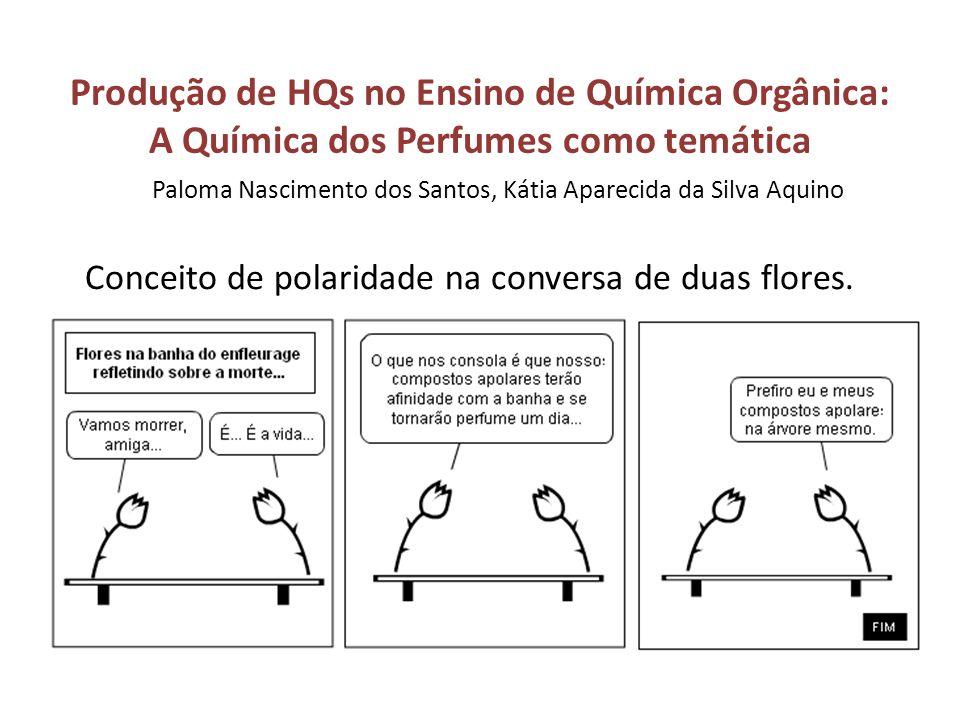 Produção de HQs no Ensino de Química Orgânica: A Química dos Perfumes como temática