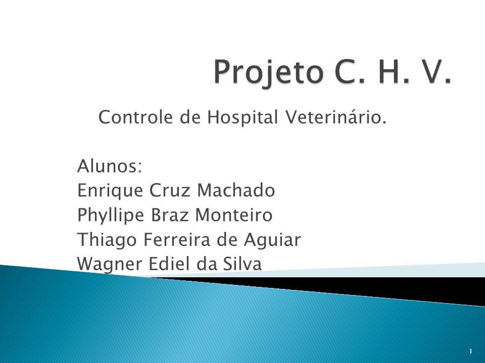 Controle de Hospital Veterinário.