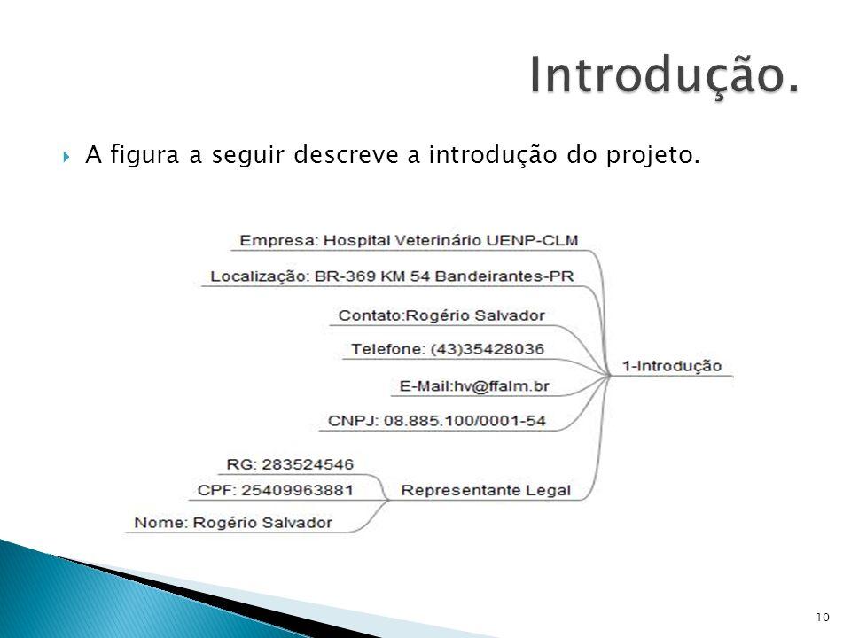 Introdução. A figura a seguir descreve a introdução do projeto.