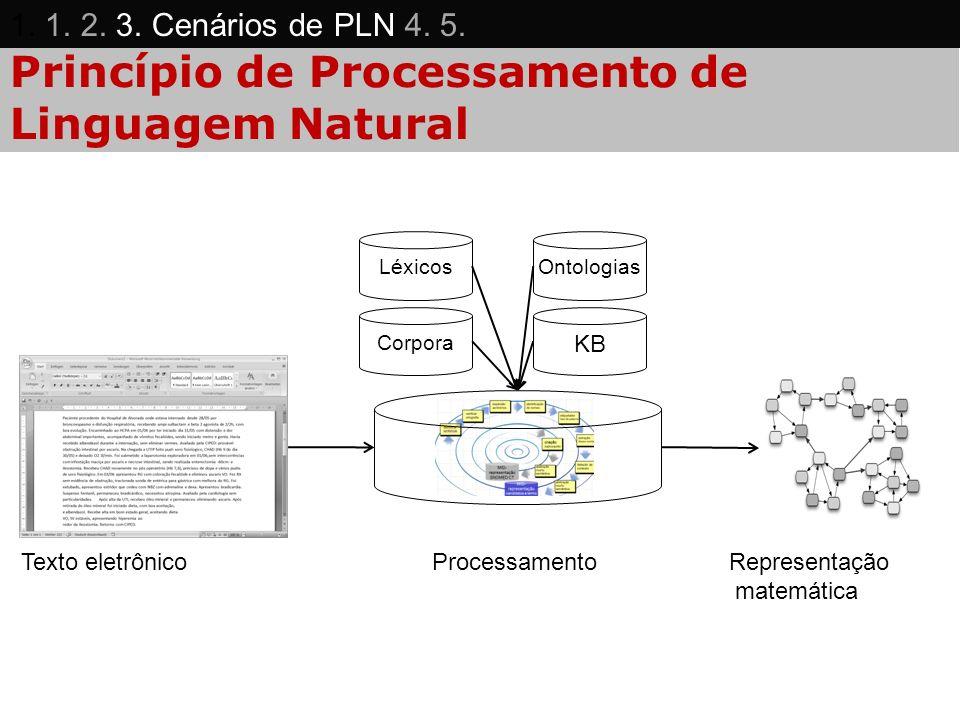 Princípio de Processamento de Linguagem Natural