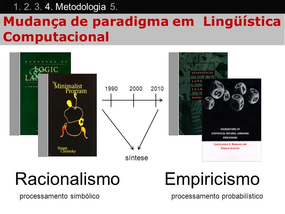 Mudança de paradigma em Lingüística Computacional