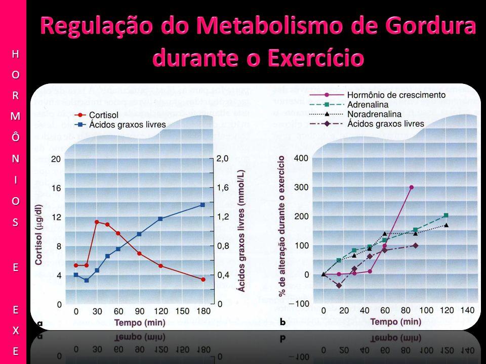 Regulação do Metabolismo de Gordura durante o Exercício