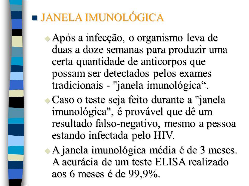 JANELA IMUNOLÓGICA