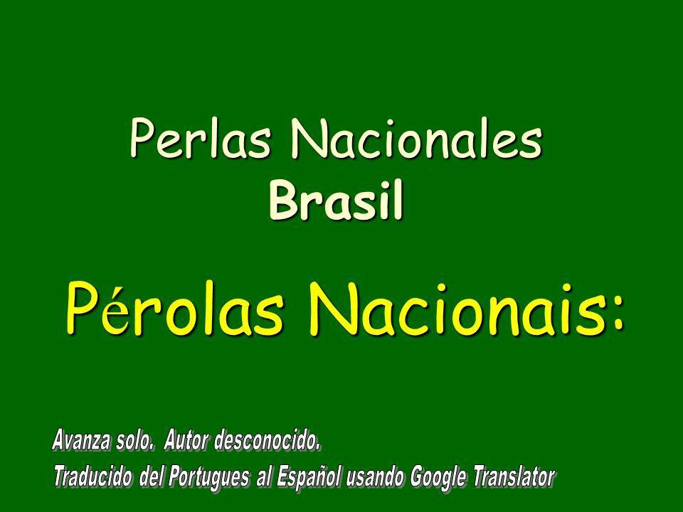 Perlas Nacionales Brasil