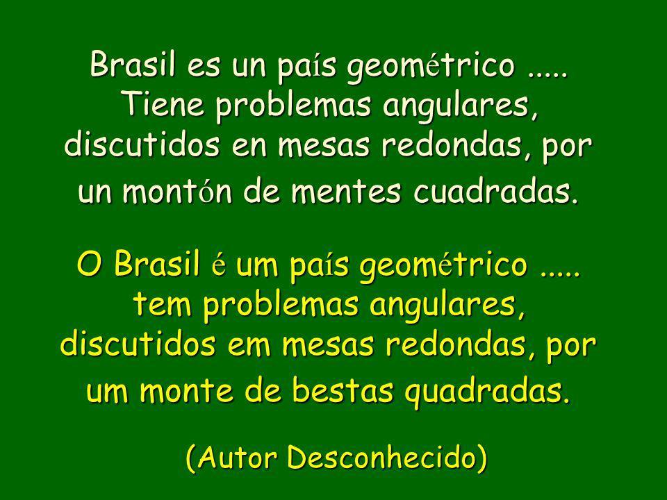 Brasil es un país geométrico