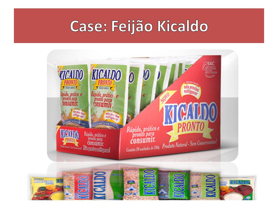 Case: Feijão Kicaldo
