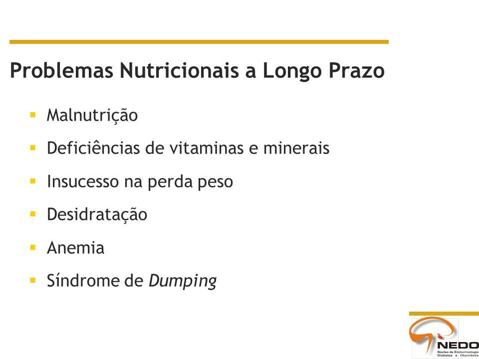 Problemas Nutricionais a Longo Prazo