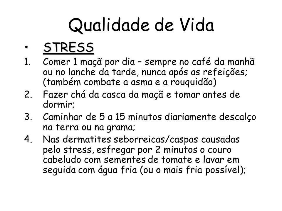 Qualidade de Vida STRESS