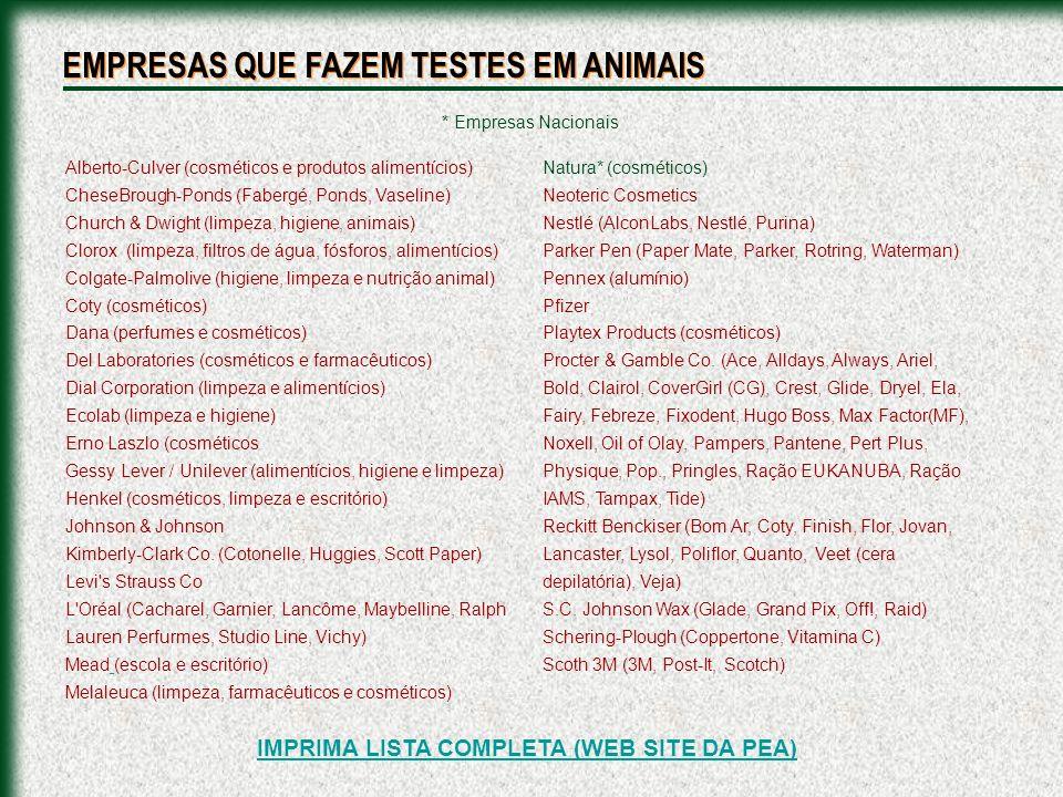 IMPRIMA LISTA COMPLETA (WEB SITE DA PEA)