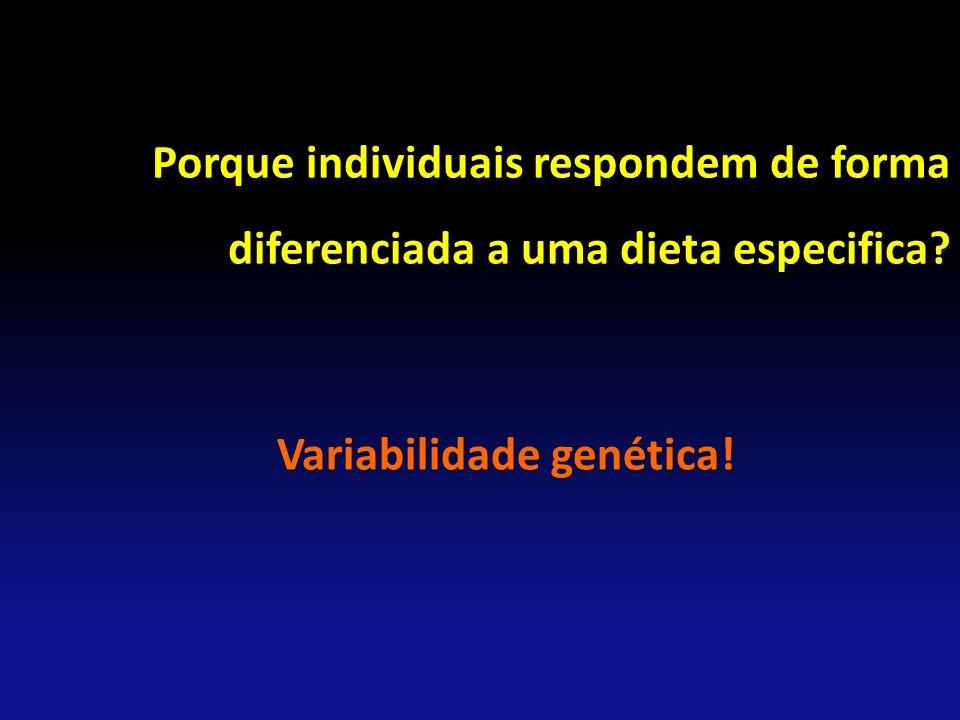 Variabilidade genética!