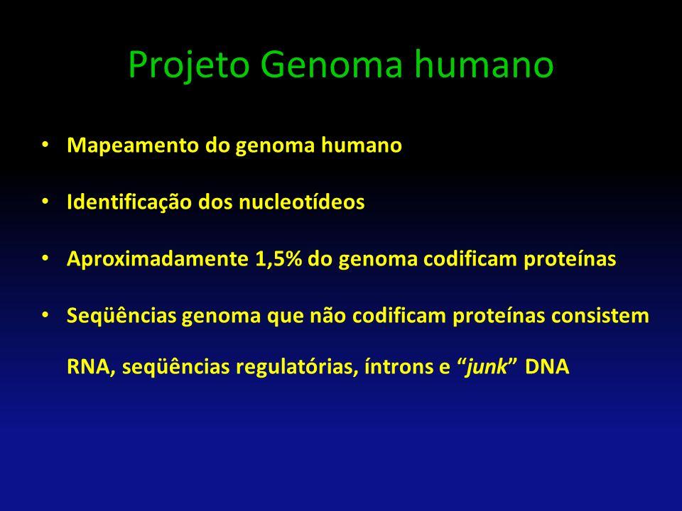 Projeto Genoma humano Mapeamento do genoma humano