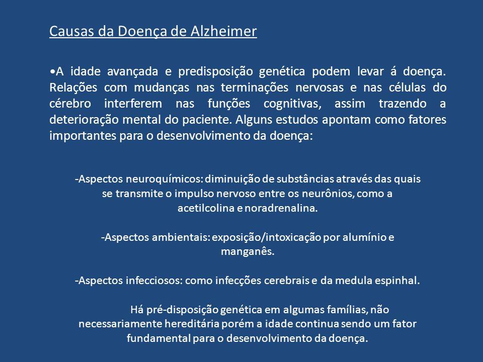 Causas da Doença de Alzheimer