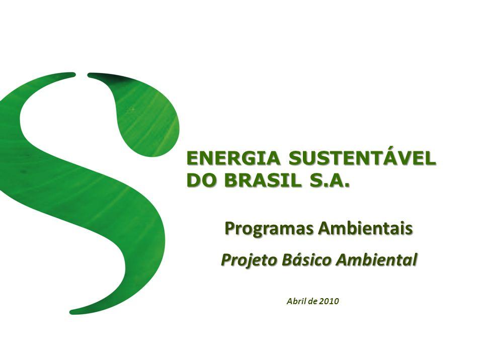 Projeto Básico Ambiental