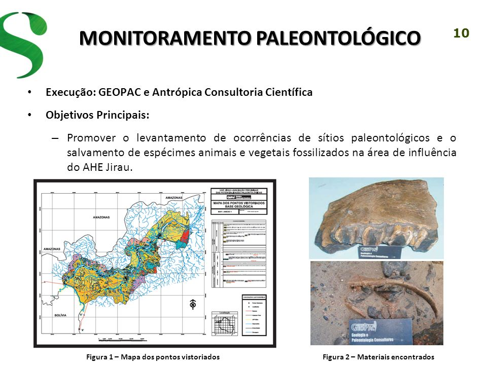 Monitoramento PALEONTOLÓGICO
