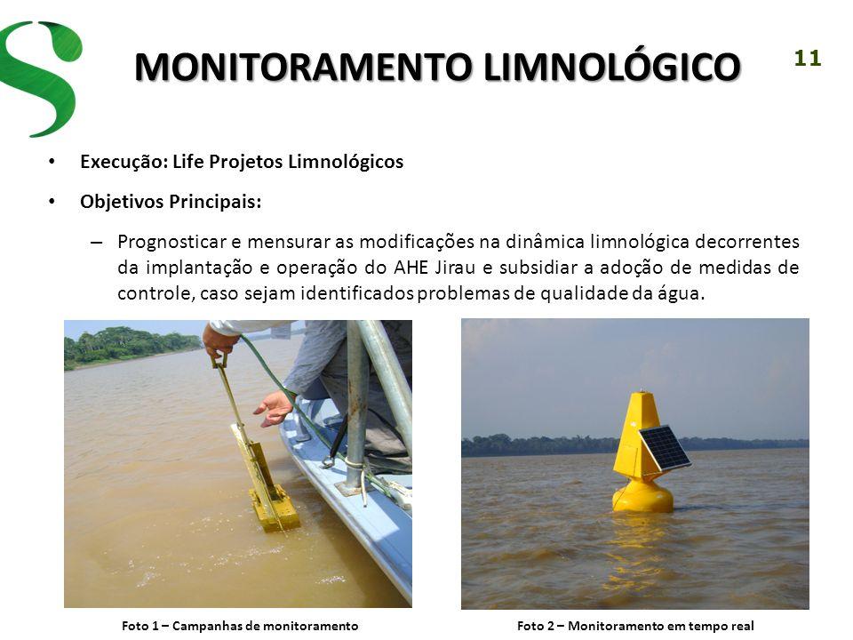 Monitoramento LimNológico