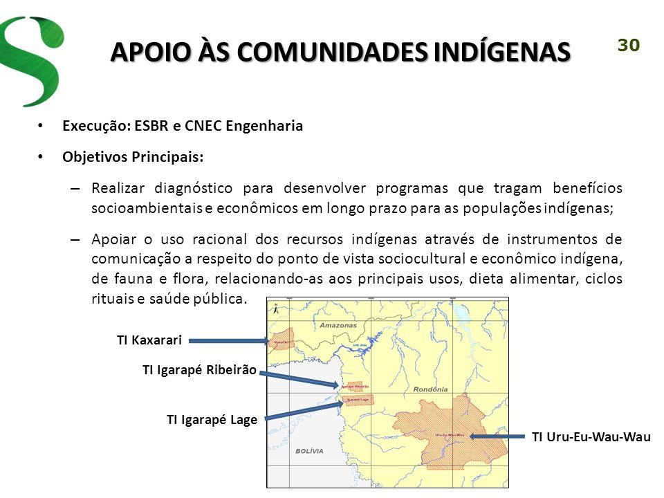 Apoio às Comunidades Indígenas