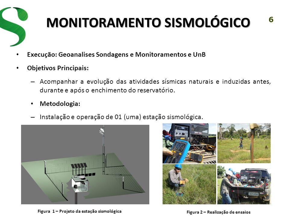 Monitoramento Sismológico