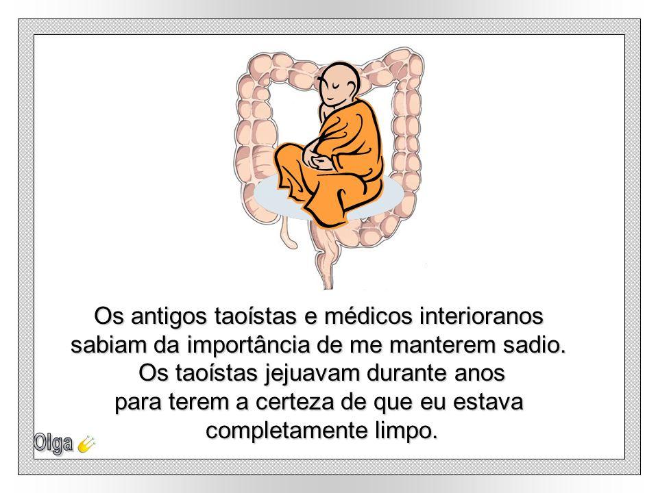 Os antigos taoístas e médicos interioranos